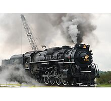 Smokey Train Photographic Print