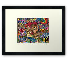 Young Heart Framed Print