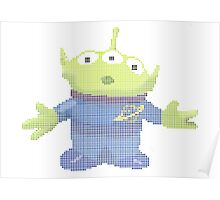 Alien from Toy Story 2 Poster