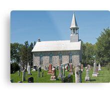 Kenyon Presbyterian Church, Dunvegan. 1880. Metal Print