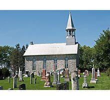 Kenyon Presbyterian Church, Dunvegan. 1880. Photographic Print