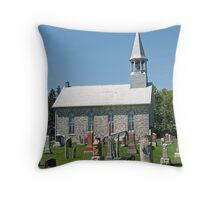 Kenyon Presbyterian Church, Dunvegan. 1880. Throw Pillow