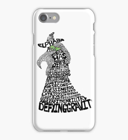 WICKED Musical Elphaba iPhone Case/Skin