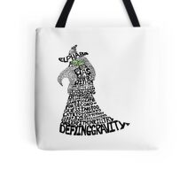 WICKED Musical Elphaba Tote Bag