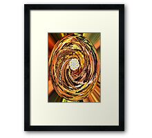 Dreamland-Flowers in the Forest Framed Print