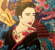 Geisha Guardians by ShaunaDZ