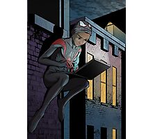 Ultimate Spider-Man Miles Morales Photographic Print