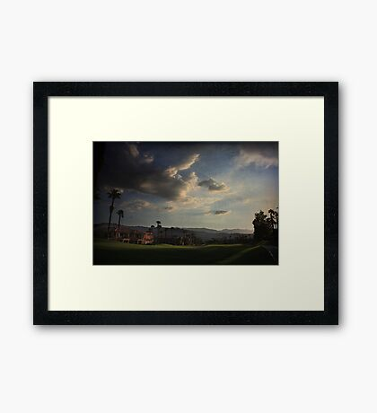 For Now, The Light Remains Framed Print