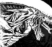 Alien Xenomorph 2 by jarofcomics