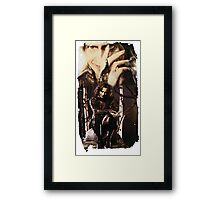 With a Price Framed Print