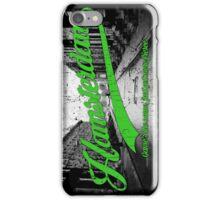 Hamsterdam - Cloud Nine Edition (Green) iPhone Case/Skin