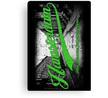 Hamsterdam - Cloud Nine Edition (Green) Canvas Print