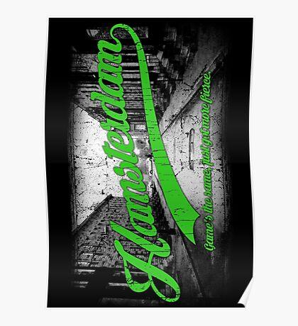 Hamsterdam - Cloud Nine Edition (Green) Poster