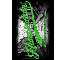 Hamsterdam - Cloud Nine Edition (Green) Photographic Print