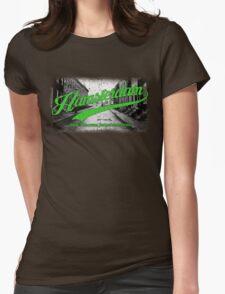 Hamsterdam - Cloud Nine Edition (Green) Womens Fitted T-Shirt