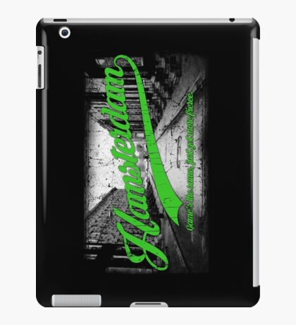 Hamsterdam - Cloud Nine Edition (Green) iPad Case/Skin