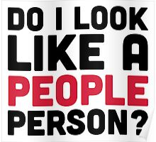A People Person Poster