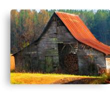 Charming Rural Barn Canvas Print
