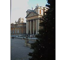 Blenheim Palace at Christmas Photographic Print