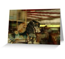 Carousel 1 Greeting Card