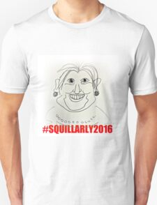 Wall Art and T shirts full of the Squillarly campaign T-Shirt