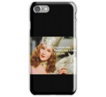 Karma is only a bitch if you are Wizard Of Oz iPhone Case/Skin