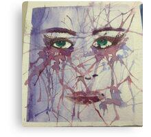 Green Eye's Canvas Print