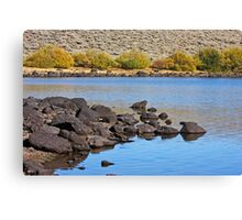 Pond in the Desert Canvas Print
