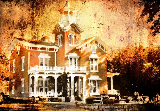 Stillman Mansion by Nadya Johnson