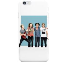 ONE DIRECTION OT4 - BLUE iPhone Case/Skin