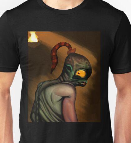 Abe in the Dark Unisex T-Shirt