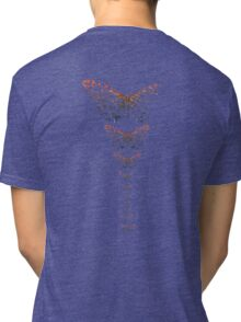 Butterfly Spine Tri-blend T-Shirt
