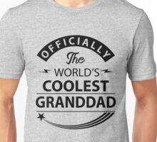 The World's Coolest Granddad Unisex T-Shirt