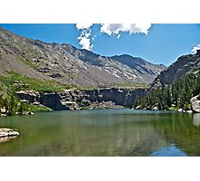 Willow Lake Photographic Print
