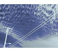 Electrifying sky scene Photographic Print