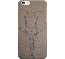Rain Drop Elephant iPhone Case/Skin