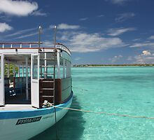Diving Boat in Maldives by pinky763