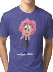 Cartoon Design T-Shirt Tri-blend T-Shirt