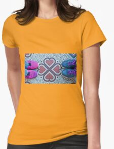 0942 Shoes with Love Womens Fitted T-Shirt