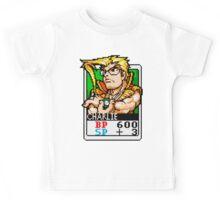 Charlie Nash - Street Fighter Kids Tee