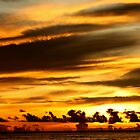 Maldivian Sunset by pinky763