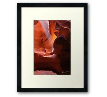 Sandstone Flare Framed Print