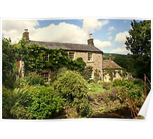 Beautiful Cottage in Ramsgill Village, Nidderdale, Yorkshire.... Poster