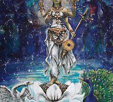 Saraswati  by Ti Campbell-Allen