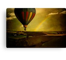 Rainbow Balloon Canvas Print