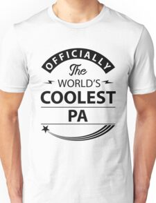 The World's Coolest Pa Unisex T-Shirt