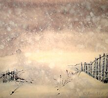 Winter..The Snow Storm by ©Janis Zroback
