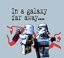 In a galaxy..there was a clean wall by #fftw by Tim Constable