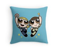 An Unstoppable Team Throw Pillow