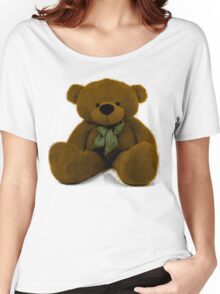 Teddy - Brown Women's Relaxed Fit T-Shirt